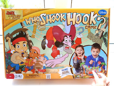 Disney games, Jake and the Neverland Pirates, Who Shook Hook