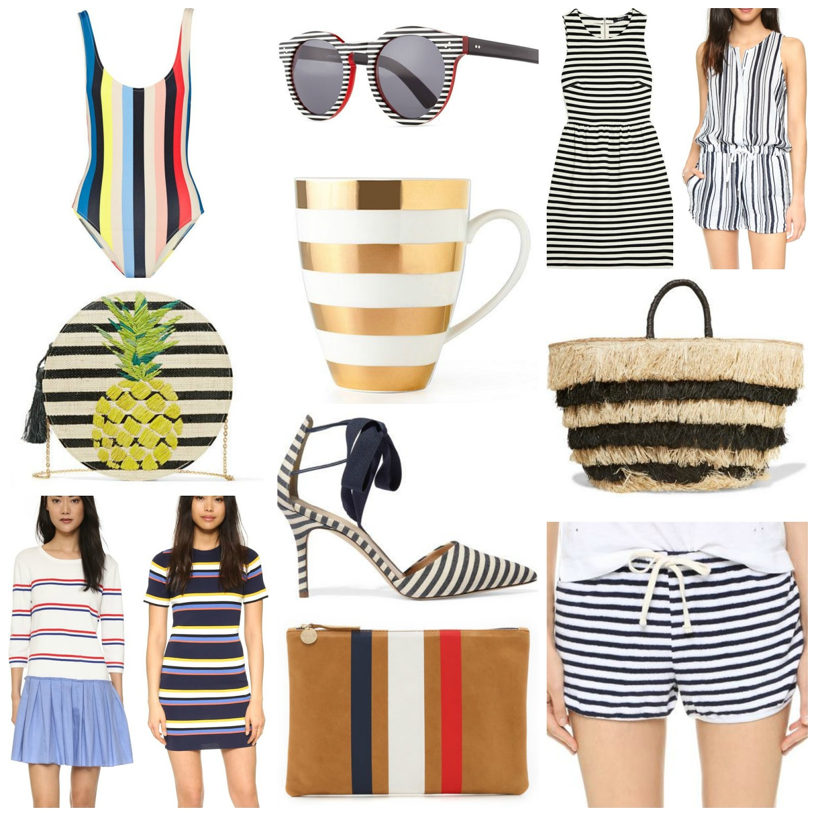 85b10418c2d What Should Be In My Closet  All Things Stripes. Vertical stripes ...