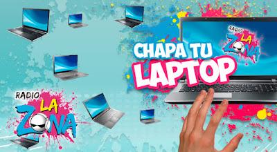 [Sorteo] Participa y gana una laptop todos los días - Chapa tu Laptop