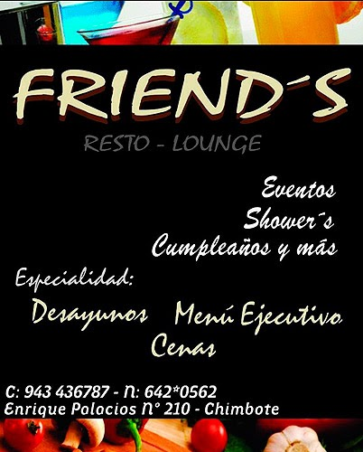 FRIEND´S – RESTO LOUNGE