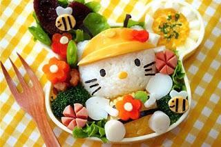 27 Desain Makanan Unik Anak Lucu