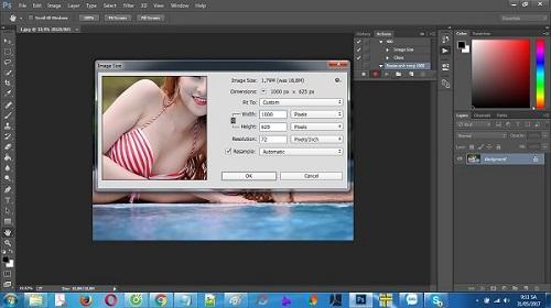 Hướng dẫn resize hàng loạt ảnh bằng phần mềm photoshop-3