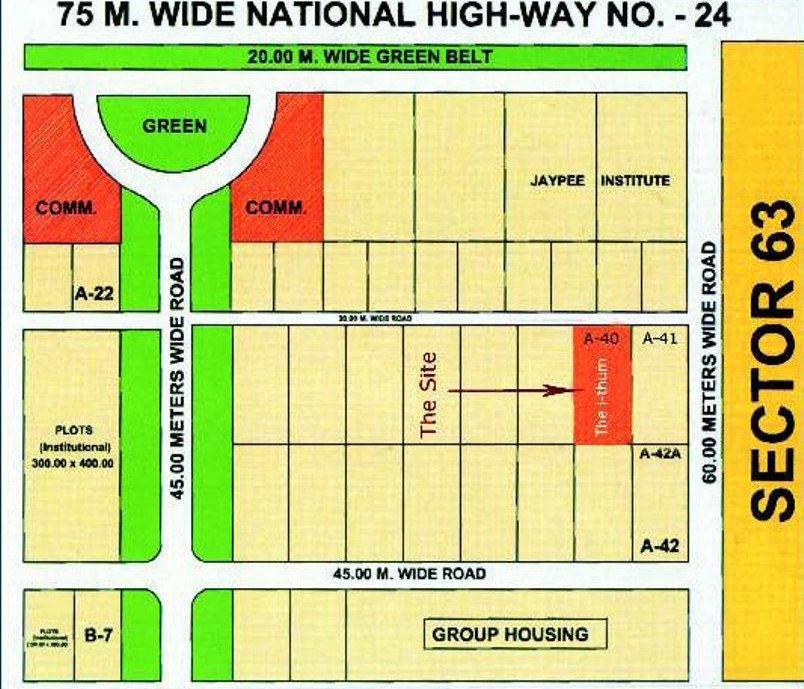 location-map-ithum-sector-62-Noida