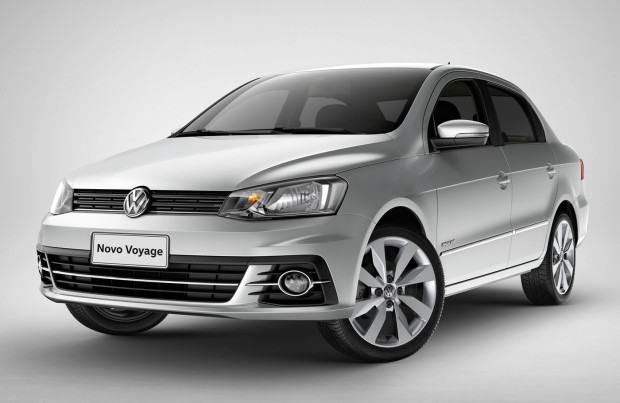 Volkswagen celebra 35 anos de Voyage