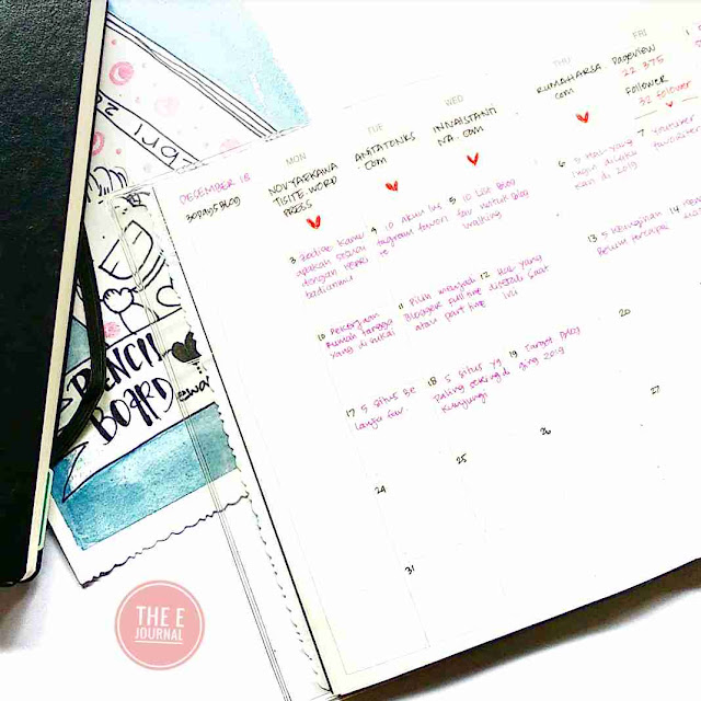 Ewafebri Bullet Journal