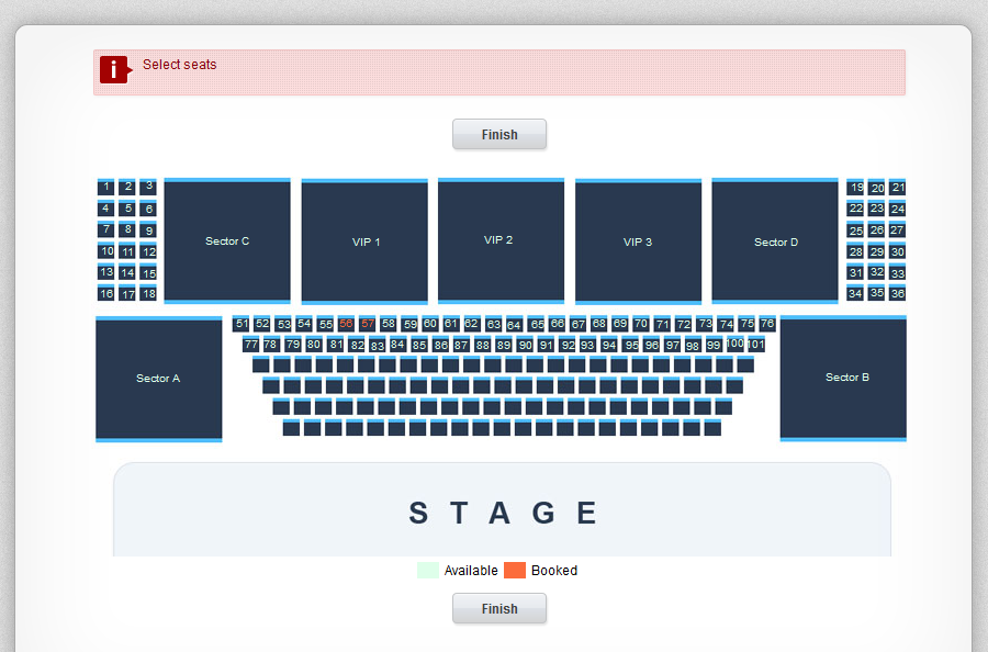 Cinema Reservation System in PHP