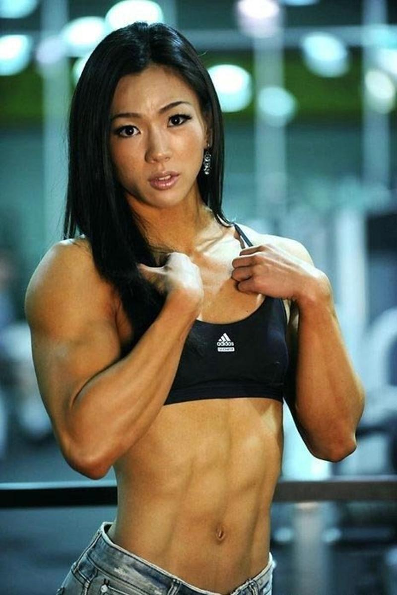 Asian Bodybuilder Women 39