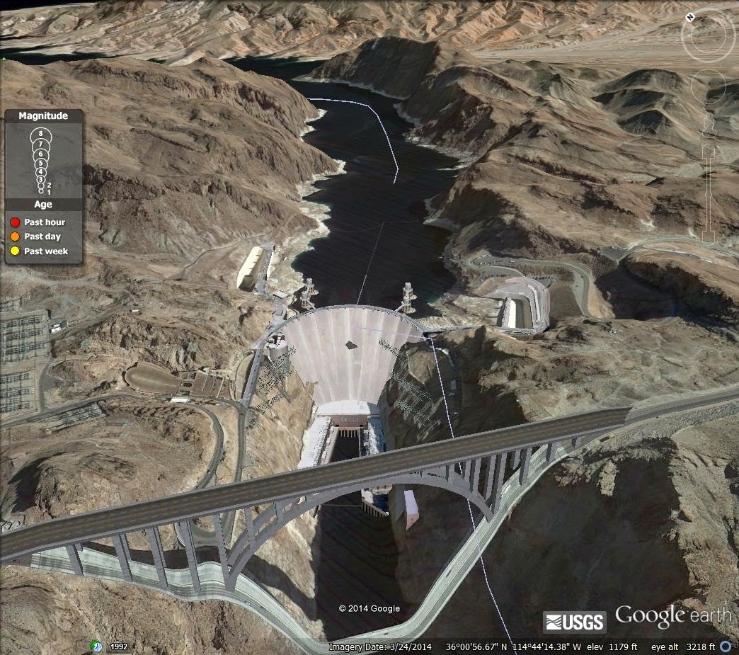 The End Times Forecaster: There is a Hole in the Hoover Dam