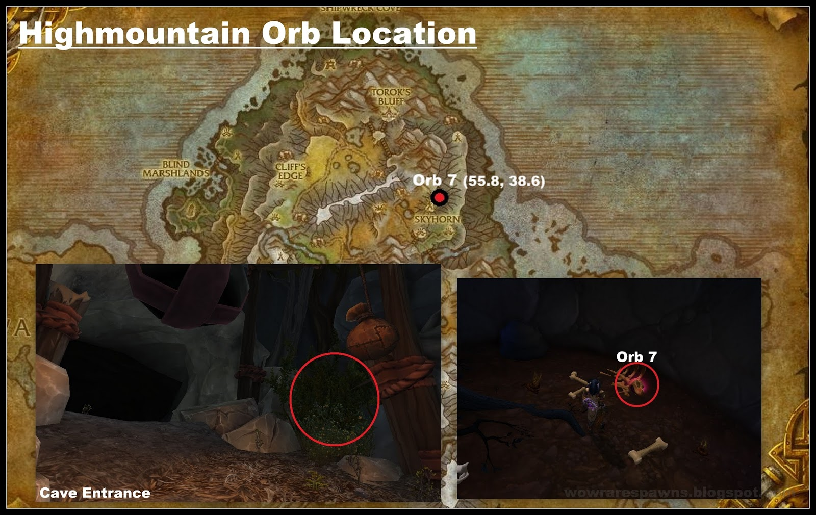 Orb 9 Is Located In An Underwater Cave Southwest Of Eye Azshara The Can Be Accessed By Navigating Through A Shipwreck