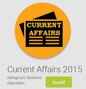 Current Affairs MCQs 1 to 20 June 2015 ~ India GK, Current