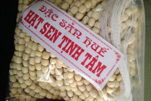 hạt sen khô huế