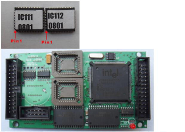 Install IC111 and IC112