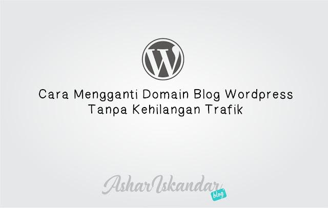 Cara Mengganti Domain Blog Wordpress
