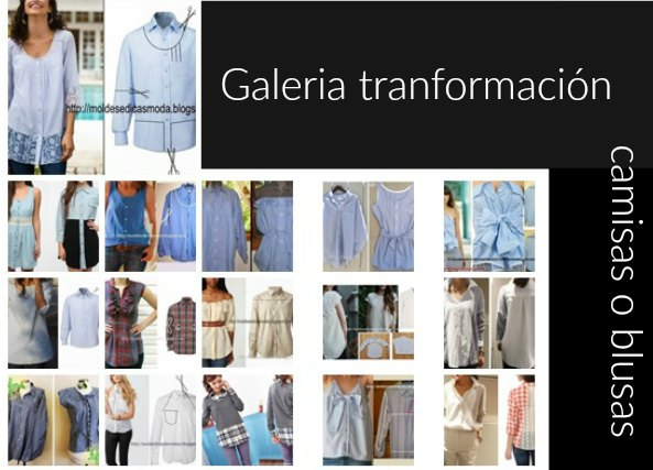camisas, blusas, transformarlas, customizarlas