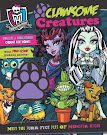 Monster High Clawsome Creatures Book Item