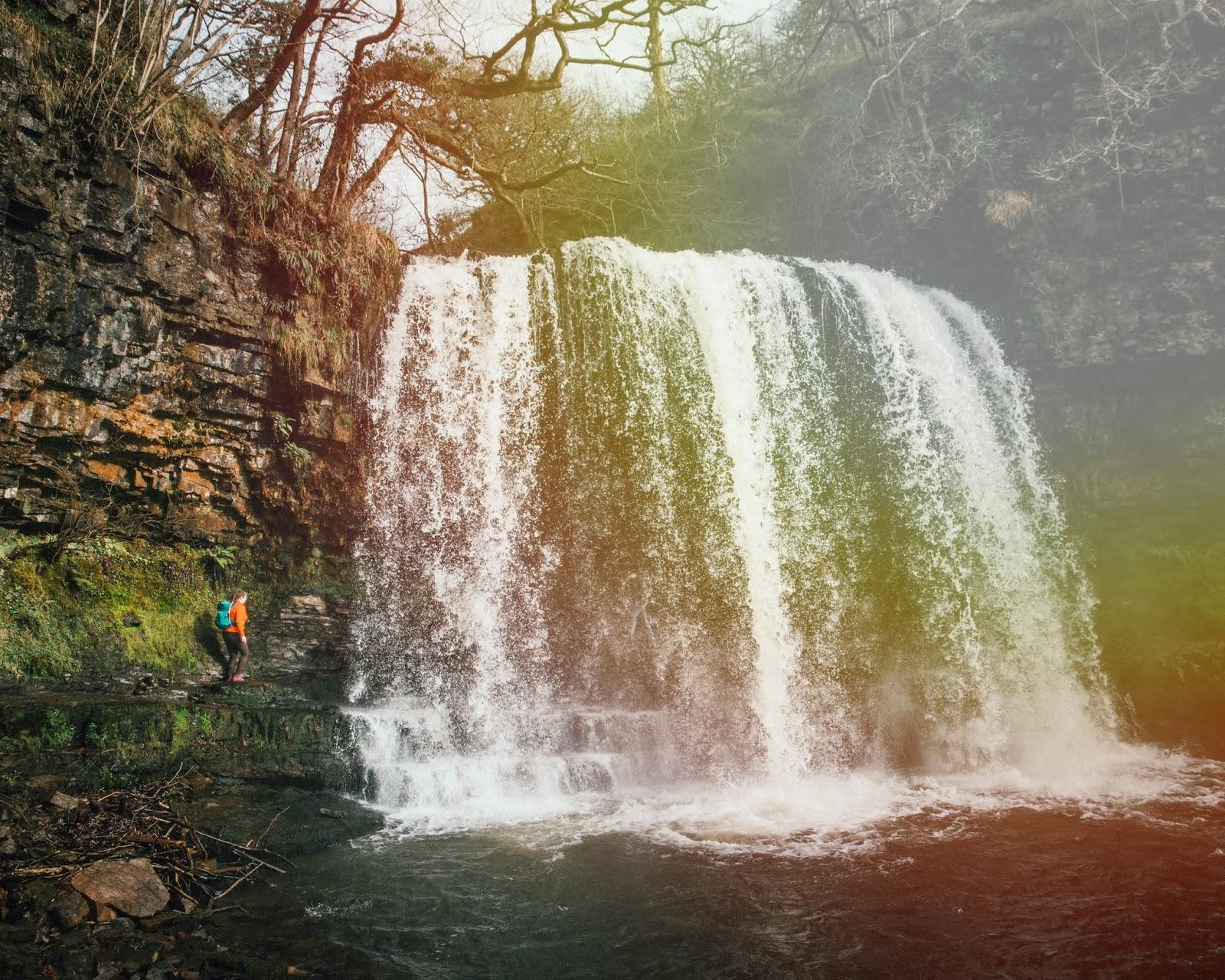 chasing waterfalls four falls walk brecon beacons liquid grain liquidgrain