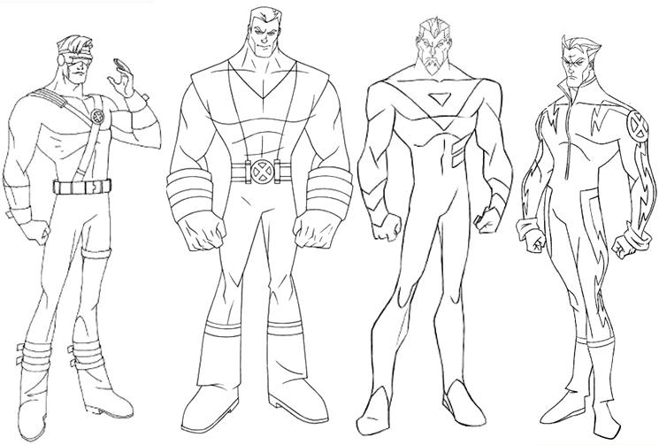Deadpool Para Colorear Pintar E Imprimir: Imagens Para Colorir Do Wolverine