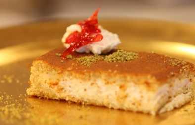 مطبخ الشيف قشطة الكنافة للشيف حسن حلويات الشيف حسن طريقة