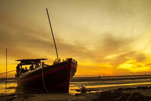 Chùm ảnh đẹp về bãi biển Đồng Châu Thái Bình Phần 1-2