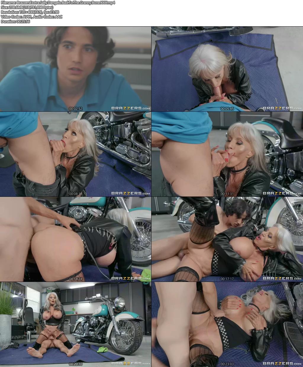 [18+] BrazzersExxtra Sally Dangelo Porn Video Bad To The Granny Bone XXX Screenshot