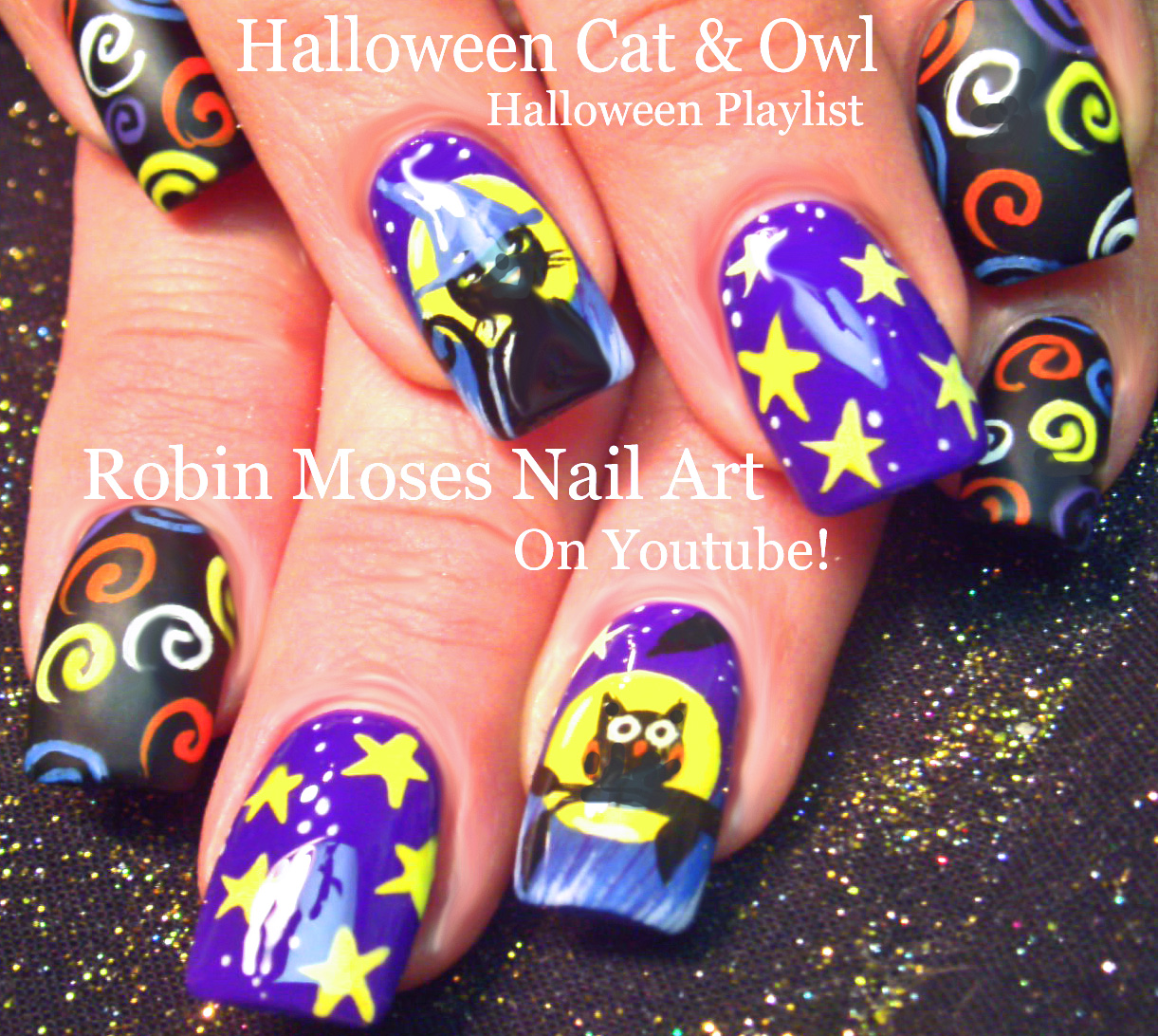 Nail Art by Robin Moses: Halloween NAILS! \