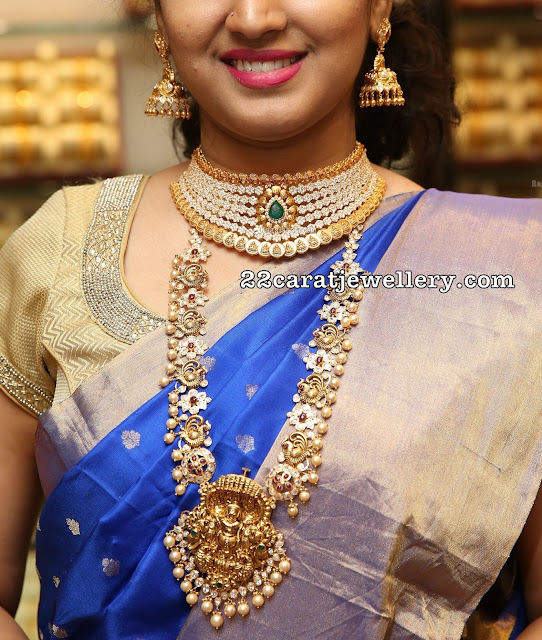 Model Indrani at Manepally Jewellery