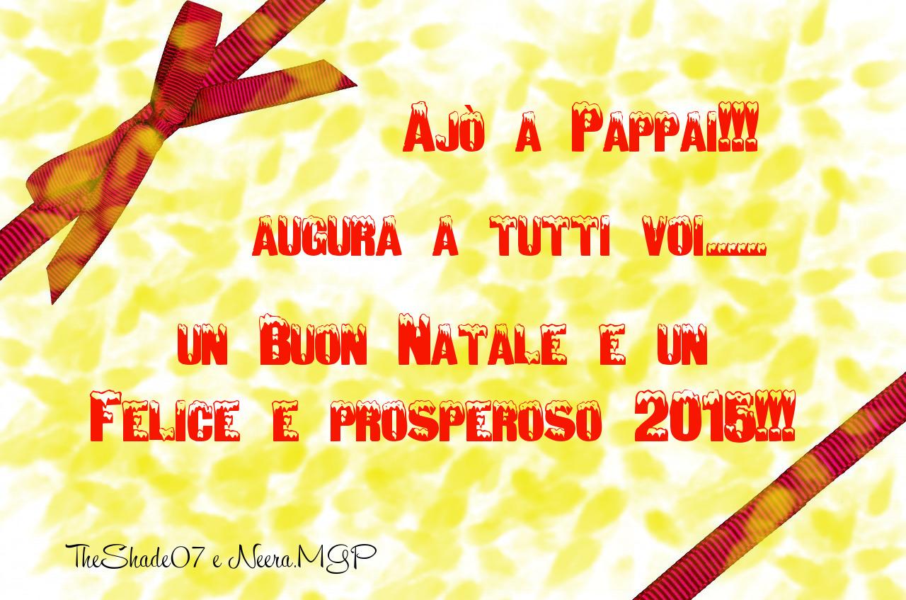 Immagine della cartolina di auguri di Buone Feste 2015!!!