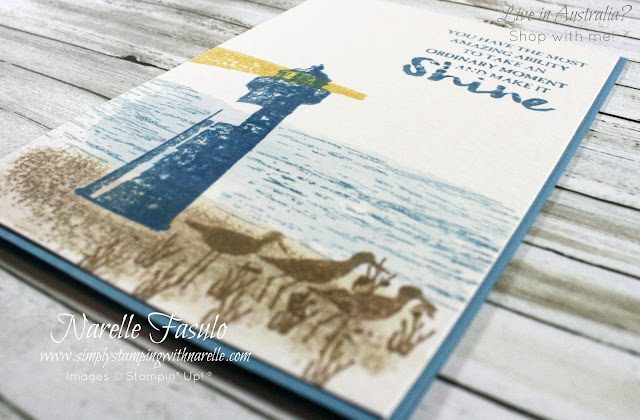 Create fantastic cards like this with the versatile High Tide stamp set. Get  yours today - http://bit.ly/2nSlOyd