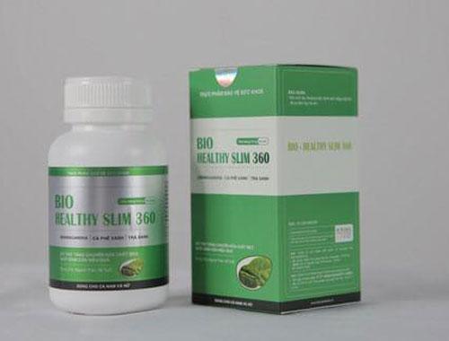 sản phẩm thuốc giảm cân Bio Healthy Slim 360