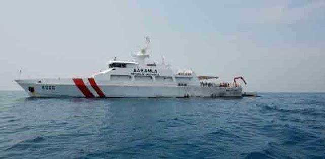 Bantu SAR Korban Tsunami, Kapal Patroli Bakamla Hadapi Gelombang Setinggi 2 Meter