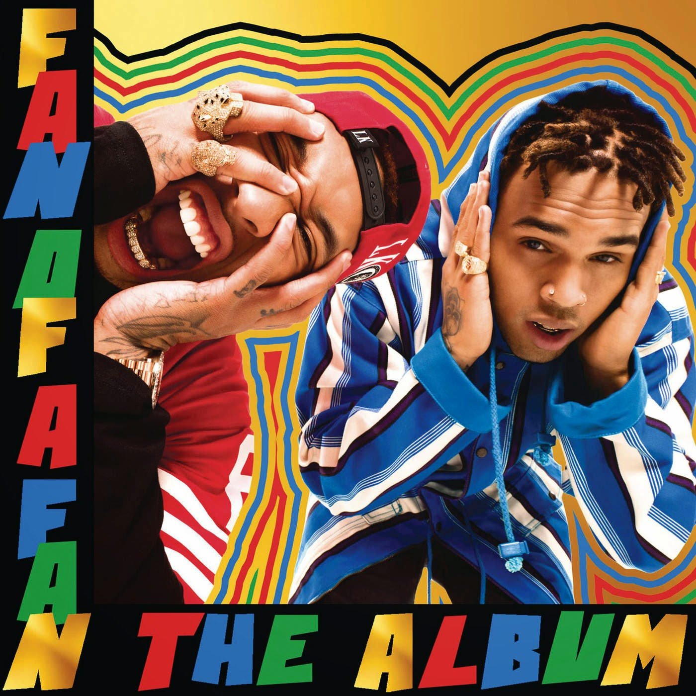 Chris Brown X Tyga - Fan of a Fan the Album (Deluxe Version) [Clean] Cover