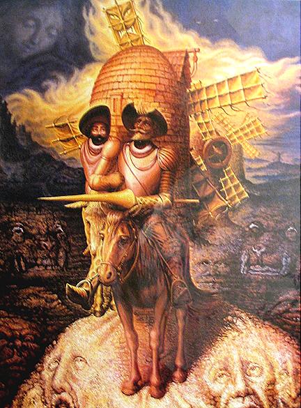Visões de Quixote - Octavio Ocampo e Suas Pinturas Cheias de Ilusões