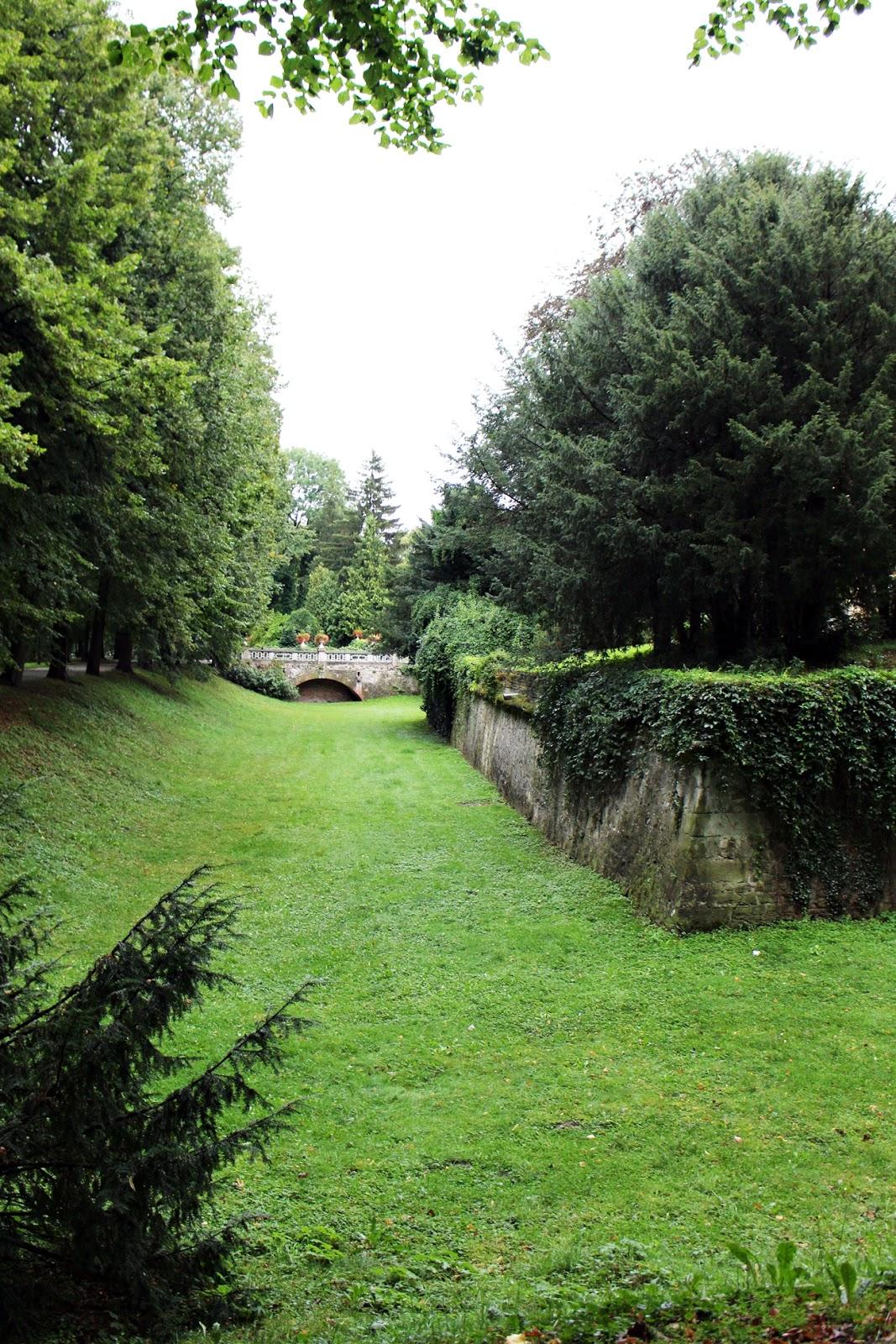 ogród łańcut