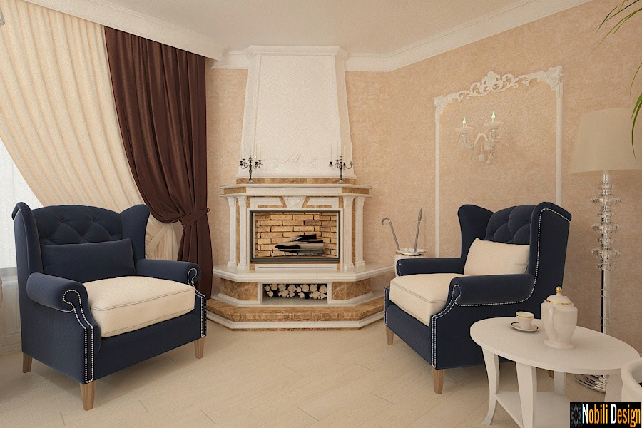 Design interior vila stil clasic de lux Bucuresti - Amenajari interioare Bucuresti