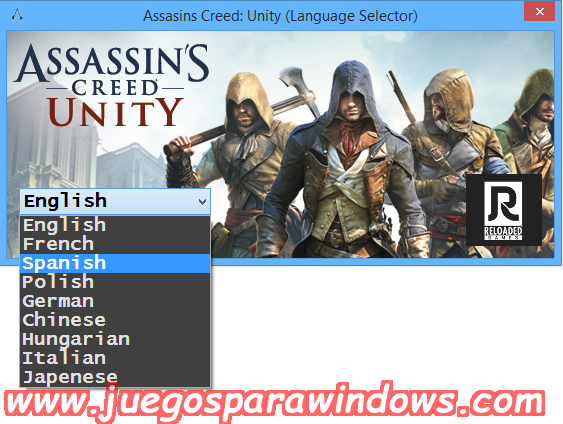 Assassin's Creed Unity Multilenguaje ESPAÑOL PC + Update v1.5 (RELOADED) + REPACK 10 DVD5 (JPW) 9