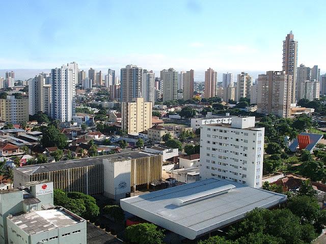Campo Grande é a terceira maior cidade do Centro-Oeste