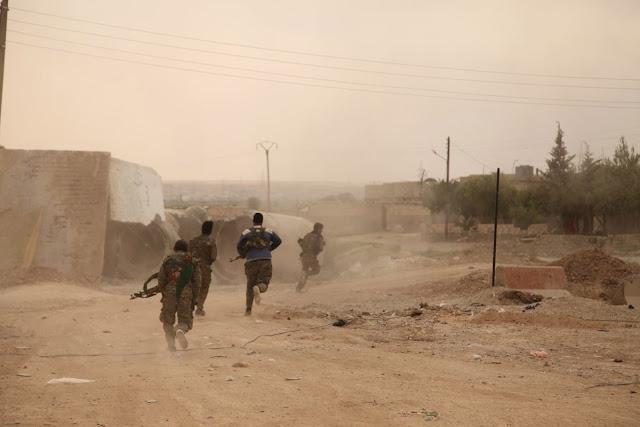 Rakka Operasyonu Son Durum DSG QSD YPG YPJ