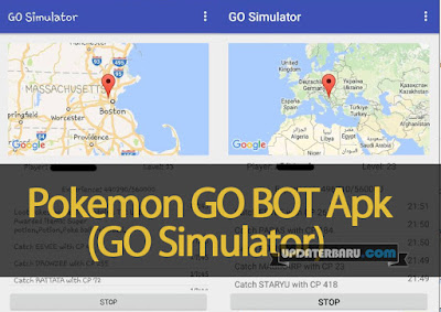 GO BOT(GO Simulator) Apk For Pokemon GO Fix Remove Soft Banned Terbaru