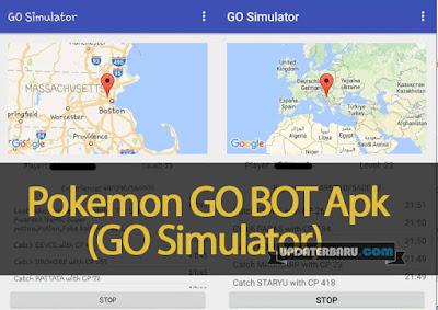 GO BOT(GO Simulator) Apk For Pokemon GO Fix Remove Soft Banned Terbaru