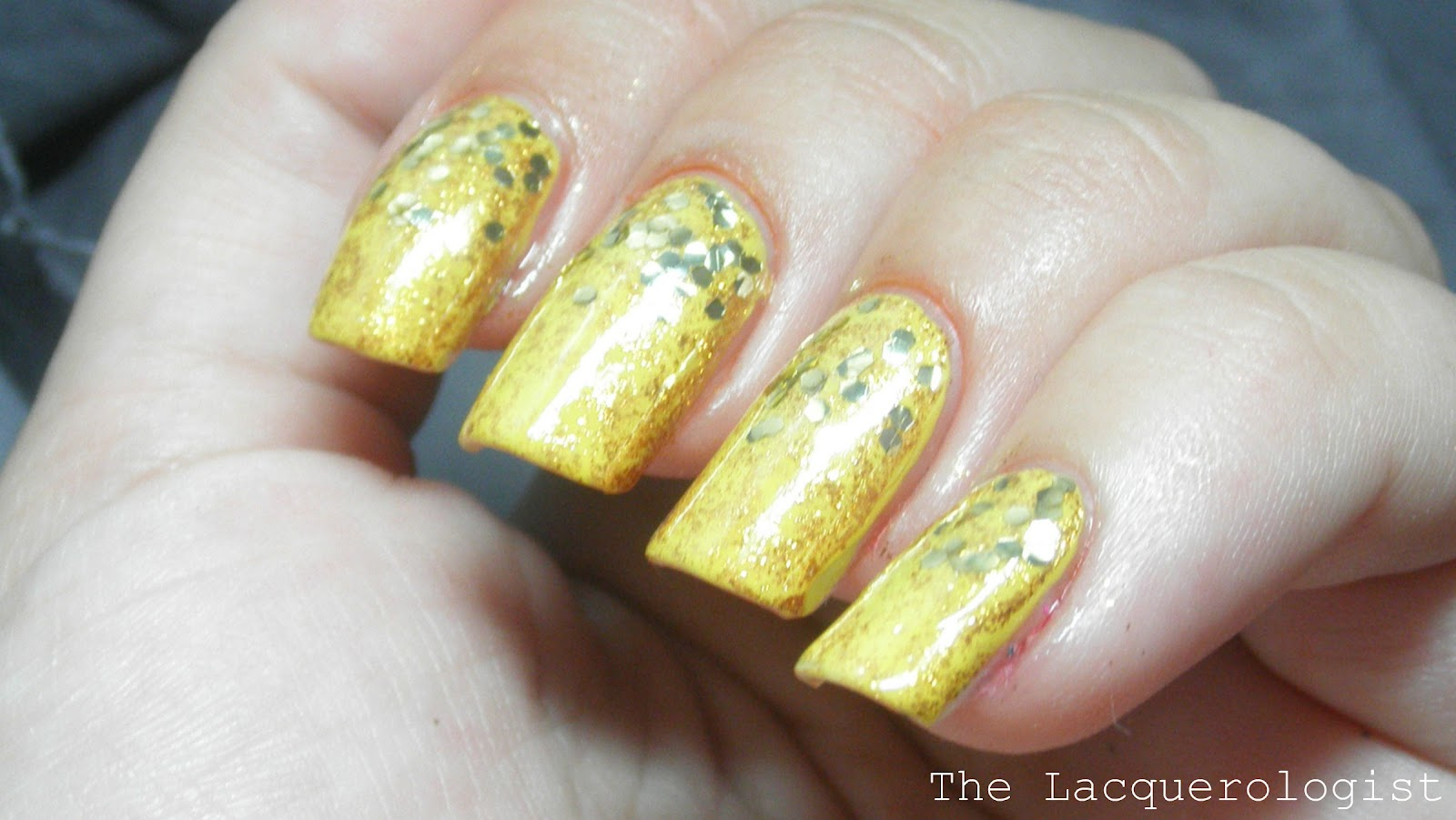 31 Day Nail Art Challenge: Day 3 - Yellow Nails • Casual Contrast