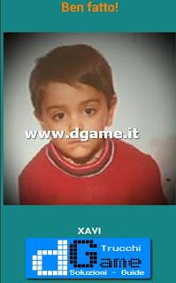Soluzioni Guess the child footballer livello 10