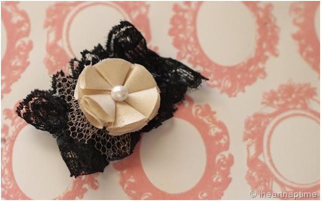 el yapımı çiçek bandana