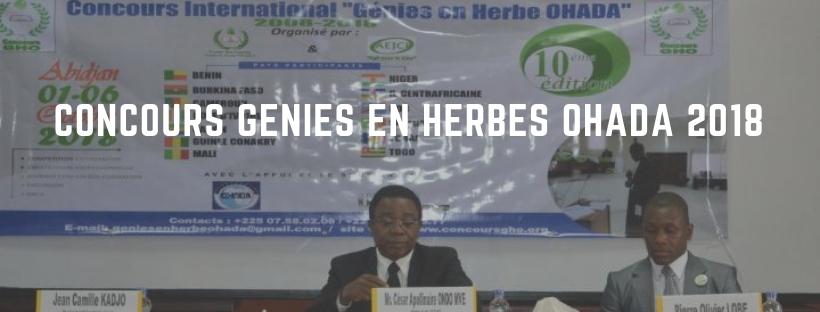 Actualité juridique : La Côte d'Ivoire remporte le concours OHADA 2018