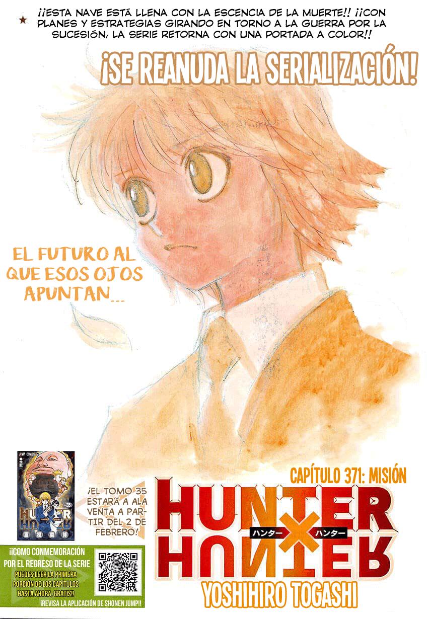 Hunter x Hunter - Capítulo 371 en Español