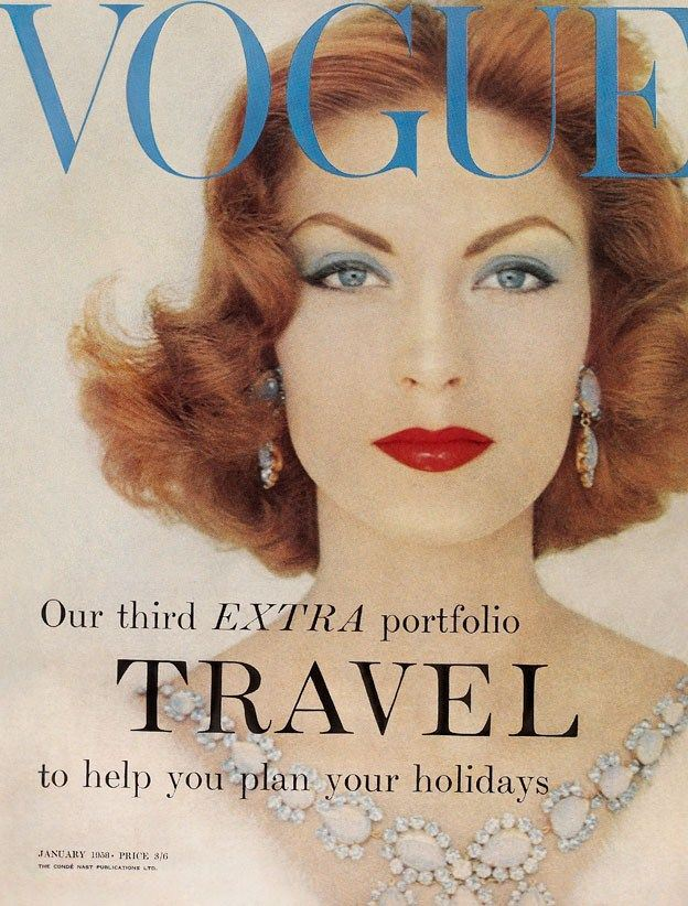 669eed9e0fee I guess you ve noticed already that I love vintage fashion photos and  covers. Below you will find a Vogue cover from Suzy Parker from the 1950 s.