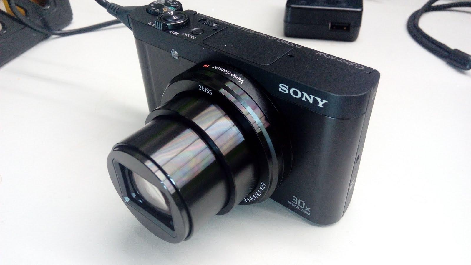 SONY DSC-WX500 開箱 - 【Frenzied Curry】