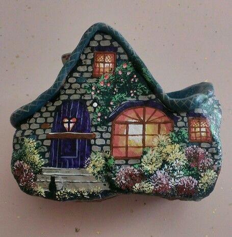 malowane kamienie - tutorial