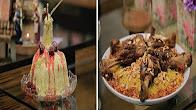 برنامج زعفران و فانيلا 1-3-2017 طريقة عمل أرز مبهر مع الموزة - تورتة المكرونة مع غادة التلي