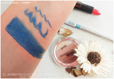 swatches FANTASTIC CHROME KAJAL - METALLIC LAPIS N 040 p2 cosmetics