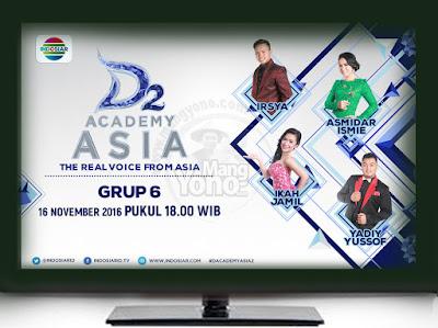 D'Academy Asia 2 ( D'AA 2) Babak 24 Besar Grup 6